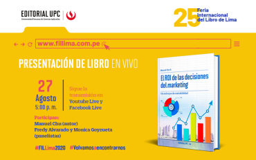 "Presentación de libro: ""El ROI de las decisiones del marketing"" (EN VIVO)"